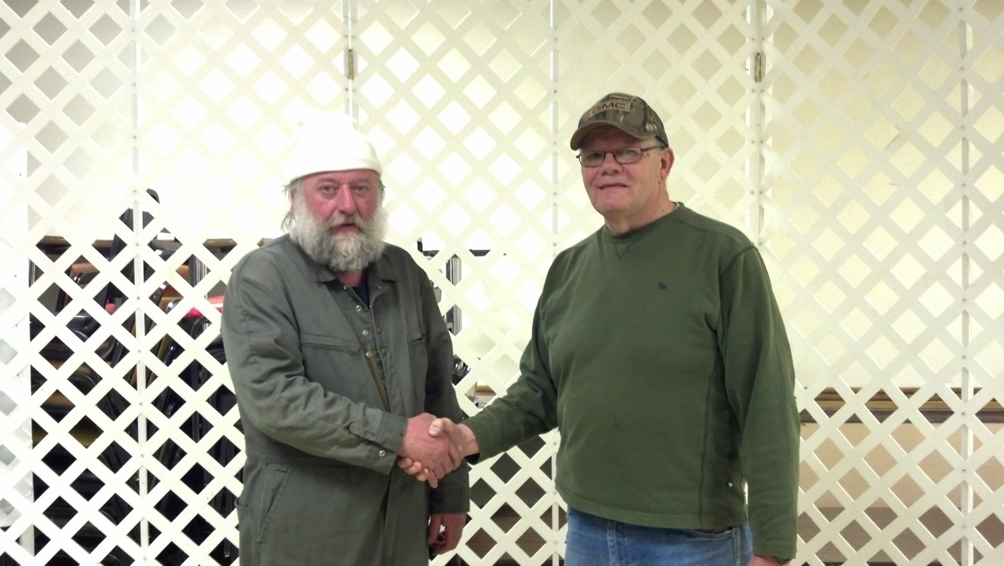 Gun Winner Tony Berger