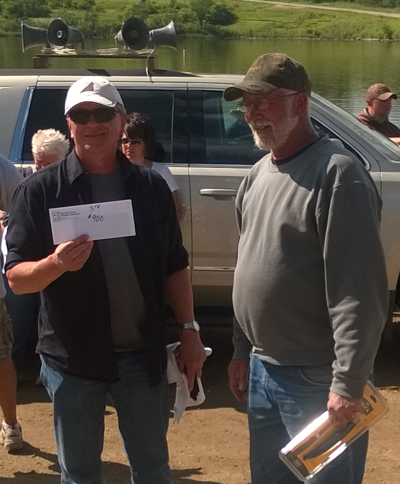 3RD PLACE STEVE HIRCHERT & MIKE CRABTREE