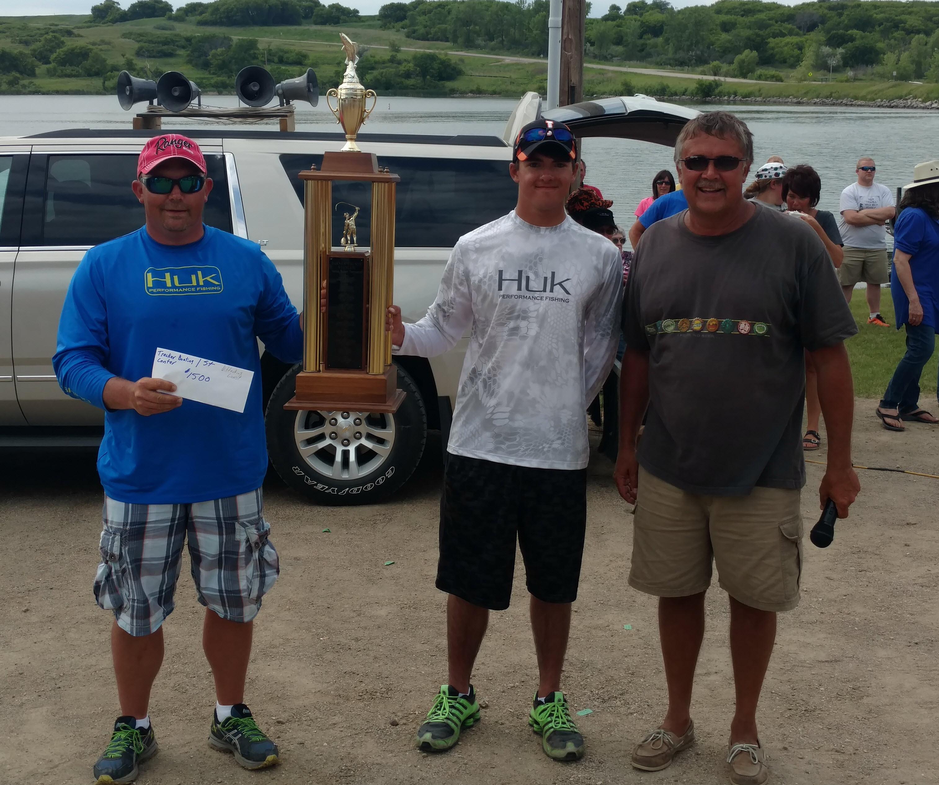 1st Place Team Casey Dodgson & Logan Clark