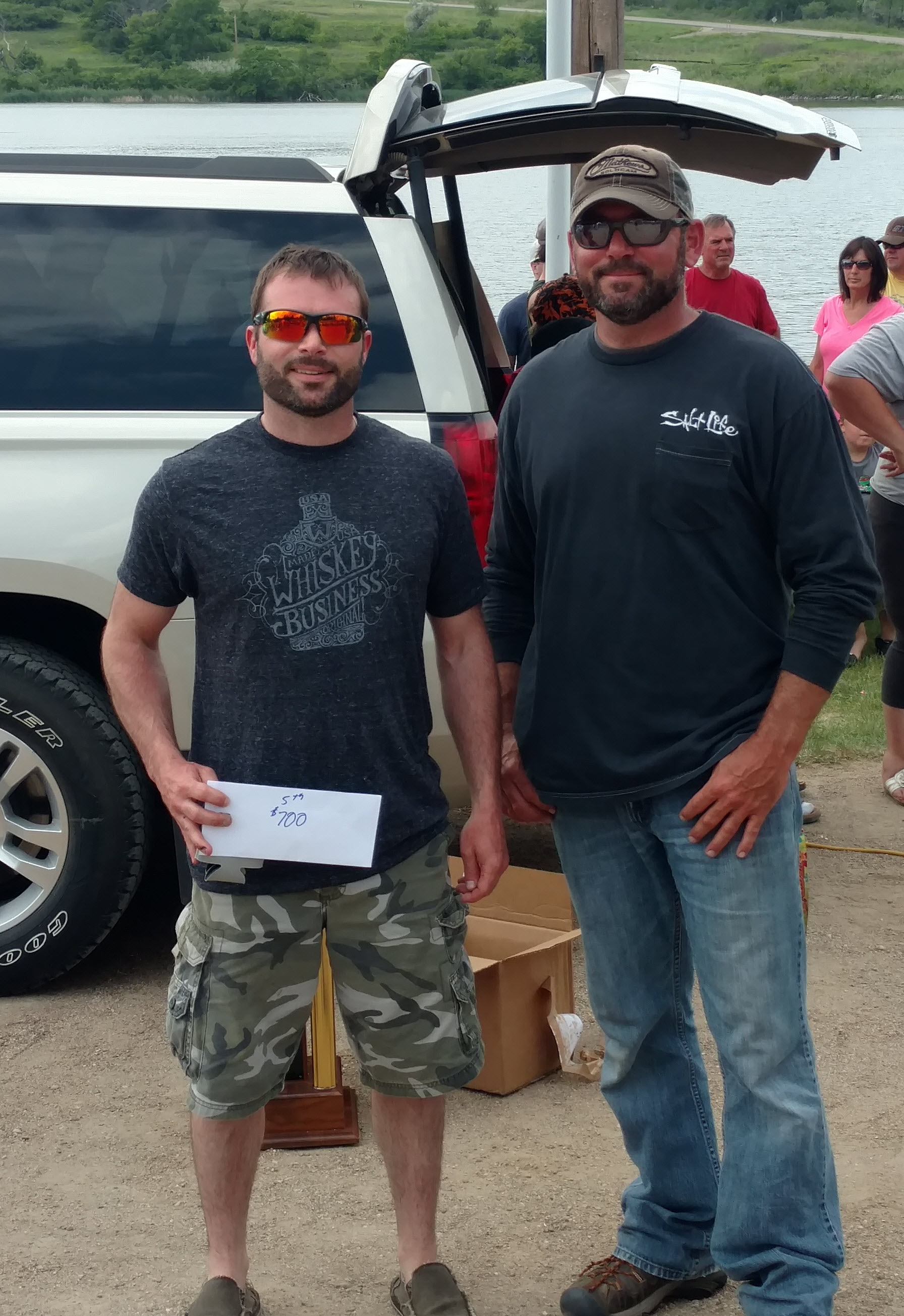 5th Place Team Casey Brandenberg & Chuck Brandberg