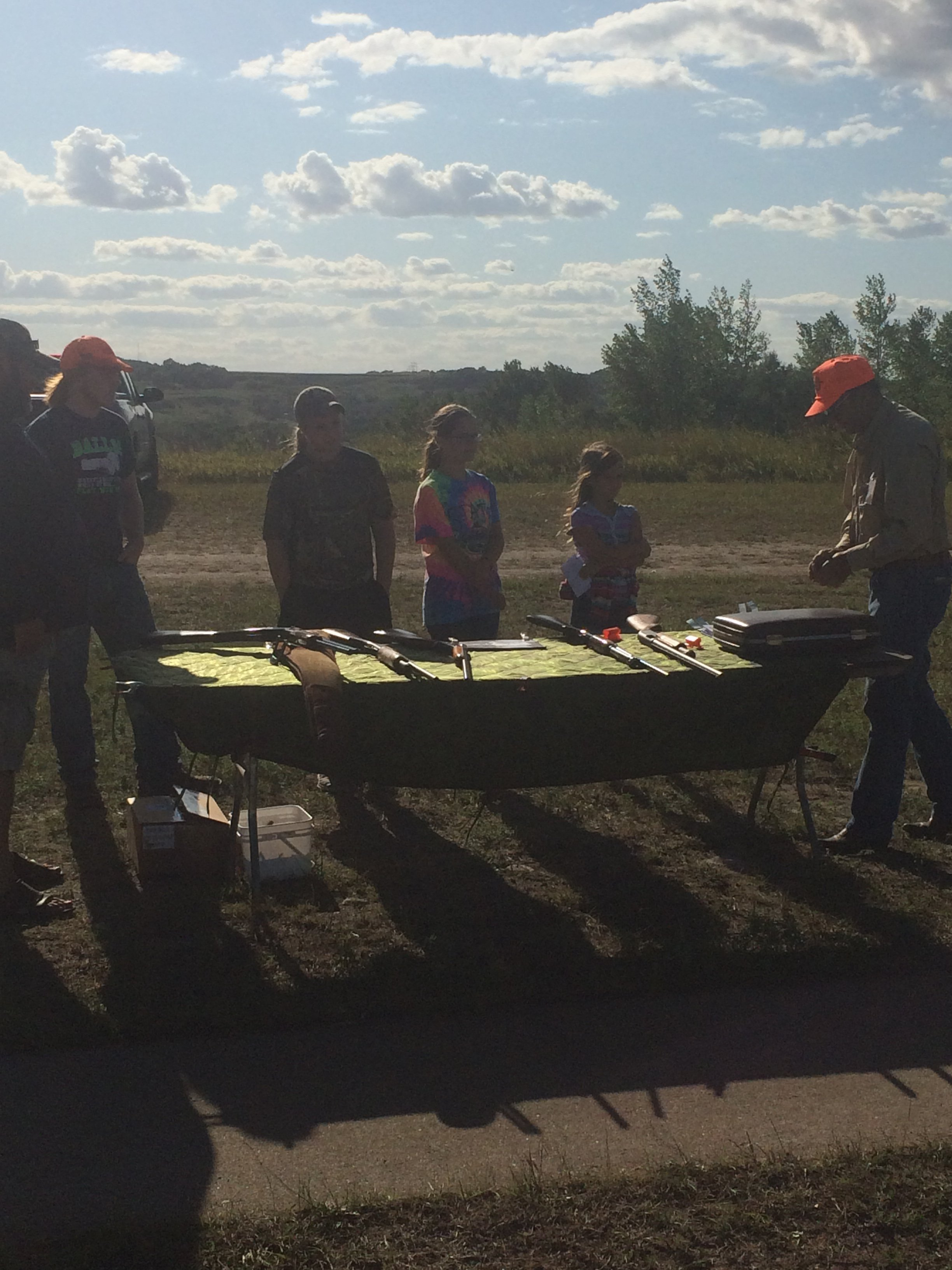 Gaylon Hansen Youth Outdoors Day