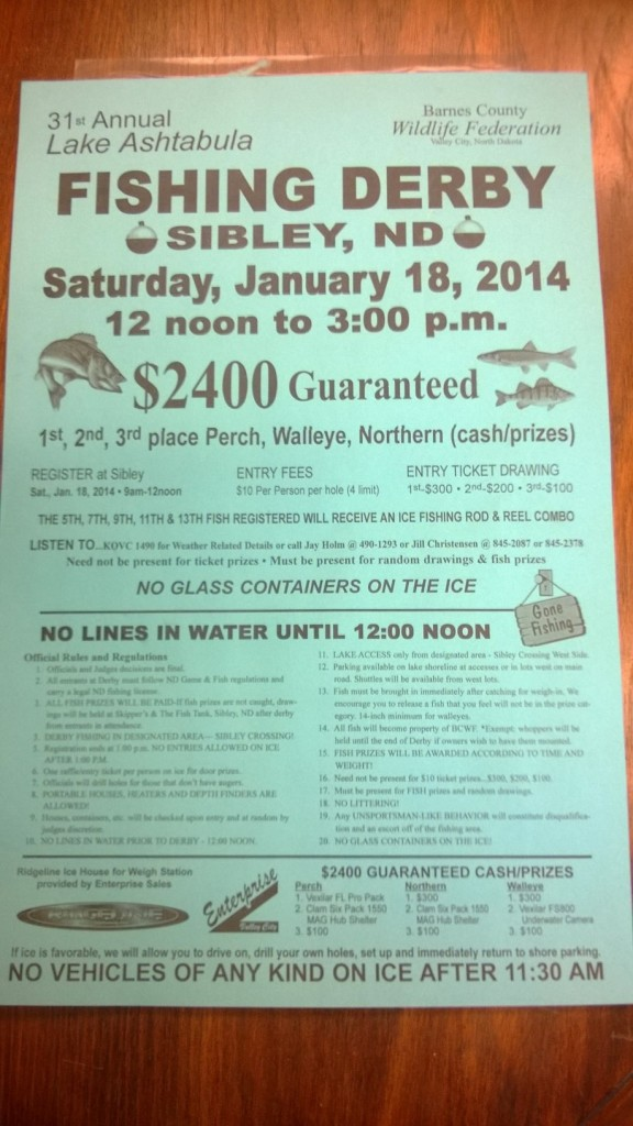 2014 Ice Fishing Derby