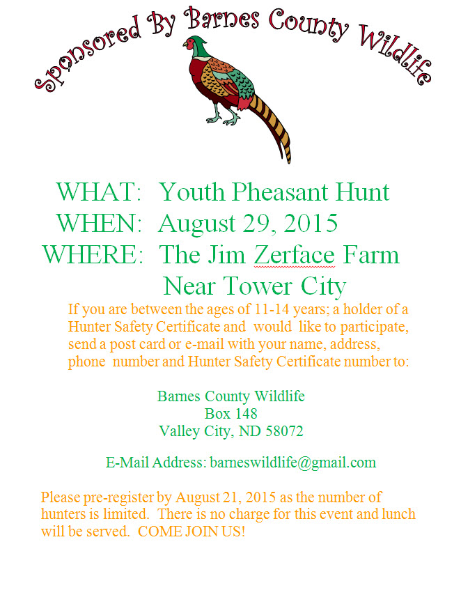 Youth PF Hunt Poster